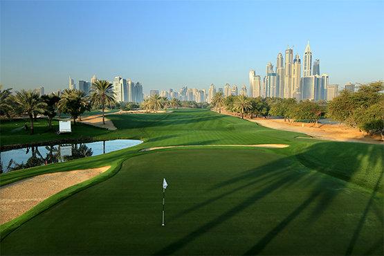 Emirates Golf Club Faldo